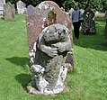 Dacre Bear or Lion, detail of predator, post, body and head, Cumbria, UK.jpg