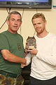Damien Duff and his brother Sergeant Gerry Duff visit the troops of the Irish 106 Battalion in Tibnine Lebanon (7514322946).jpg