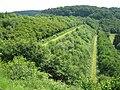 Damm der Großen Dhünn Talsperre mit zwei luftseitigen Bermen - panoramio.jpg