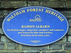 Damon albarn (waltham forest heritage)