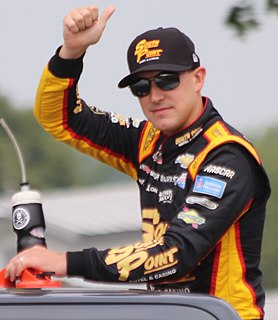 Daniel Hemric American stock car racing driver