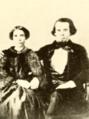Daniel Lafayette Kenan and 1st wife Martha Ann (Gregory) Kenan, ca. 1851.png