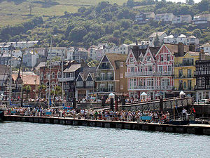 Dartmouth, Devon - Image: Dartmouth.town.750pi x