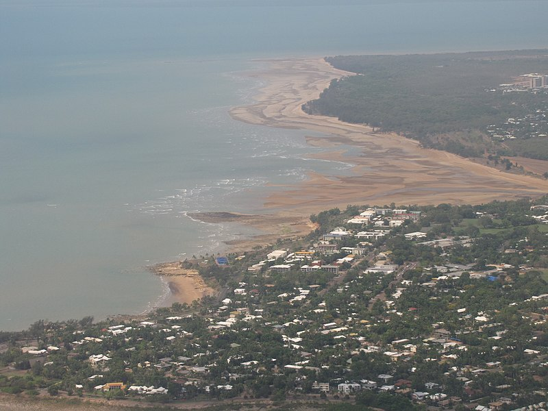 File:Darwin Suburb Nightcliff and Rapid Creek Mouth October 2011.jpg