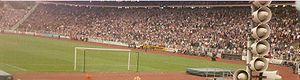 Die Südtribune des Volksparkstadions