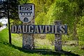 Daugavpils A13 welcome sign.jpg