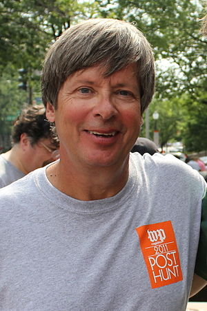 English: Portrait of Dave Barry, taken after t...