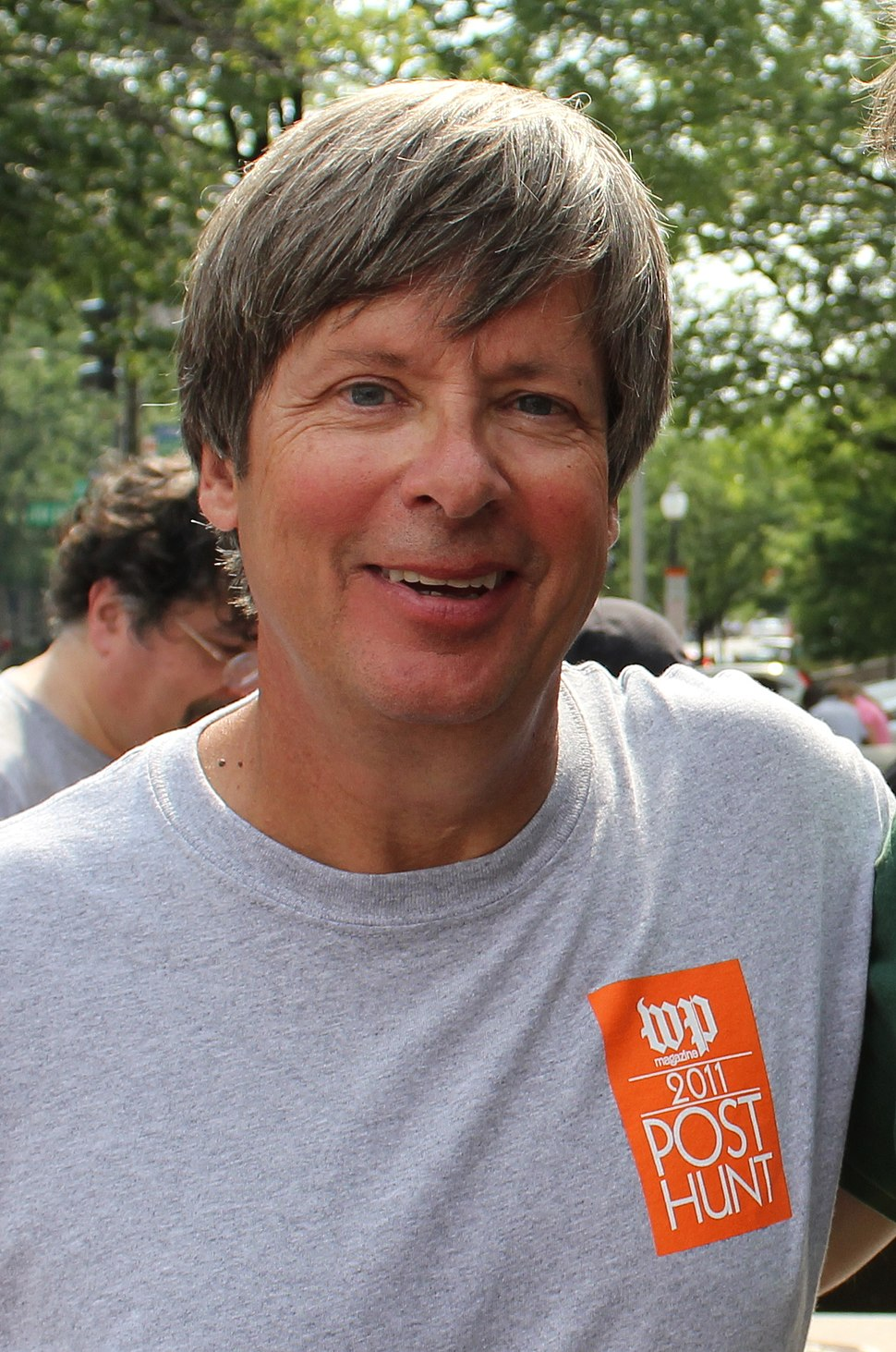 Barry at the 2011 Washington Post Hunt