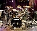 Dave Weckl's drum kit @Jazz Alley, 8th Dec. 2007.jpg