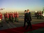 David Cameron is met by PM Sellal of Algeria (8431378795).jpg