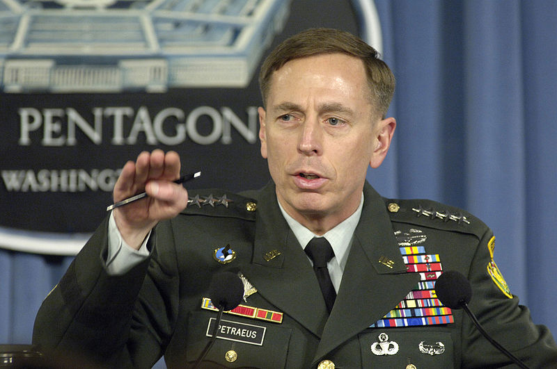 David H. Petraeus press briefing 2007.jpg