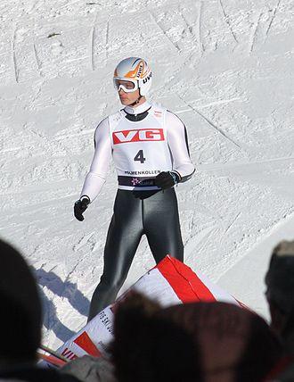 David Lazzaroni - David Lazzaroni at Holmenkollen in 2010