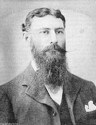 David Lindsay (explorer) - Lindsay circa 1897