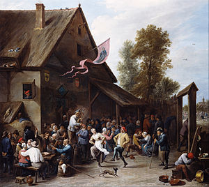 Kermesse (festival) - St George's Kermess by David Teniers the Younger (c.1664 - 1667)