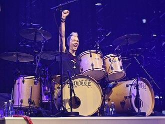 David Keith (drummer) - Image: David keith rainbow drummer birmingham uk 2017