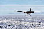 De Havilland Canada DHC-6 Twin Otter of Kenn Borek Air flying over Antarctica.jpg