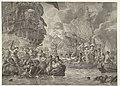 De Tocht naar Chatham en de verovering van de Royal Charles, 1667 De beroemde Onderneming op de Rivieren van London en Rochester gedaan den 21, 22 en 23 Junij des Jaars 1667 (titel op object), RP-P-OB-82.351.jpg