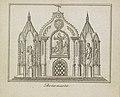 De Vernietiging van de Oude Constitutie, decoratie op de Botermarkt, 1795 Botermarkt (titel op object), BI-B-FM-099-9.jpg