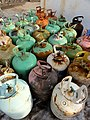 December 2, 2012 - Colorful Freon tanks, ready for recycling. (8250066769).jpg
