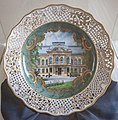 Decorative porcelain wall plate with the view of the East Slovak Museum, Kosice 2018-05.jpg
