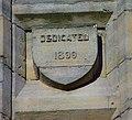 Dedication stone, Sacred Heart Church - geograph.org.uk - 1032063.jpg