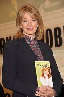 """Hall from an autograph session for """"Deidre Hall's Kitchen Close Up."""" in 2010"""