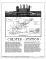 Delaware County Electric Company, Chester Station, Delaware River at South end of Ward Street, Chester, Delaware County, PA HAER PA,23-CHES,2- (sheet 1 of 13).png