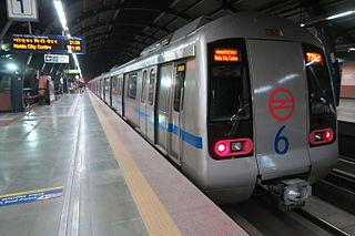 Blue Line (Delhi Metro) line of the Delhi Metro system