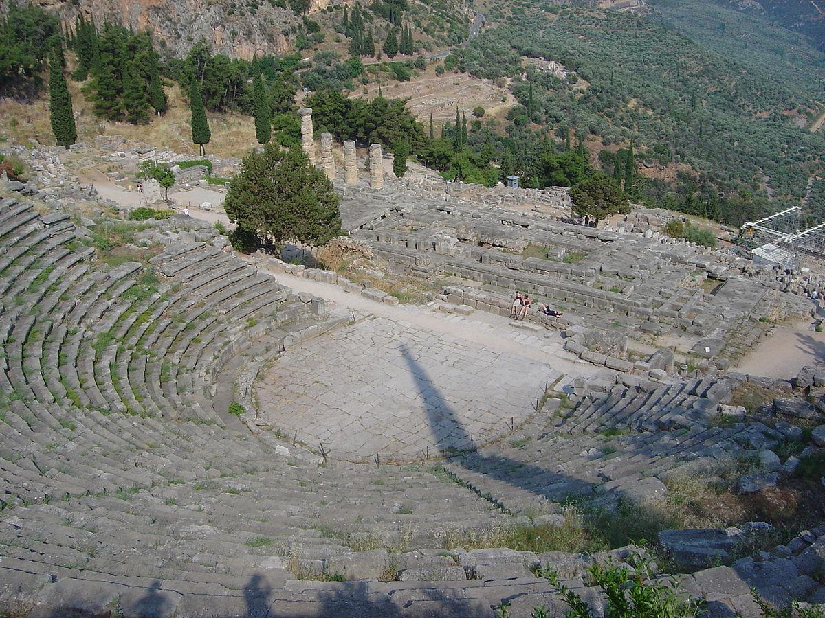Teatre grec de Delfos