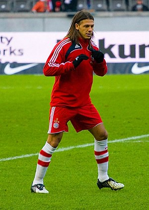 Martín Demichelis - Demichelis with Bayern in 2009.