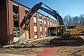 Demolition of building 442 in Naval Submarine Base New London.jpg