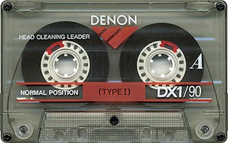 Denon - Denon DX1/90 audio cassette tape