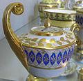 Denuelle, servito in azzurro e oro zecchino, 1830-35, 03.JPG