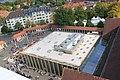 Der Holger-Börner Platz hinter der Stadthalle Kassel vom Ramada Hotel gesehen.JPG