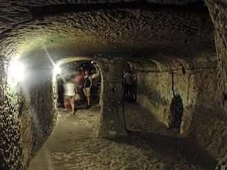 Derinkuyu - Image: Derinkuyu chamber