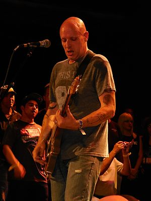 Stephen Egerton (guitarist) - Egerton performing with the Descendents in 2014