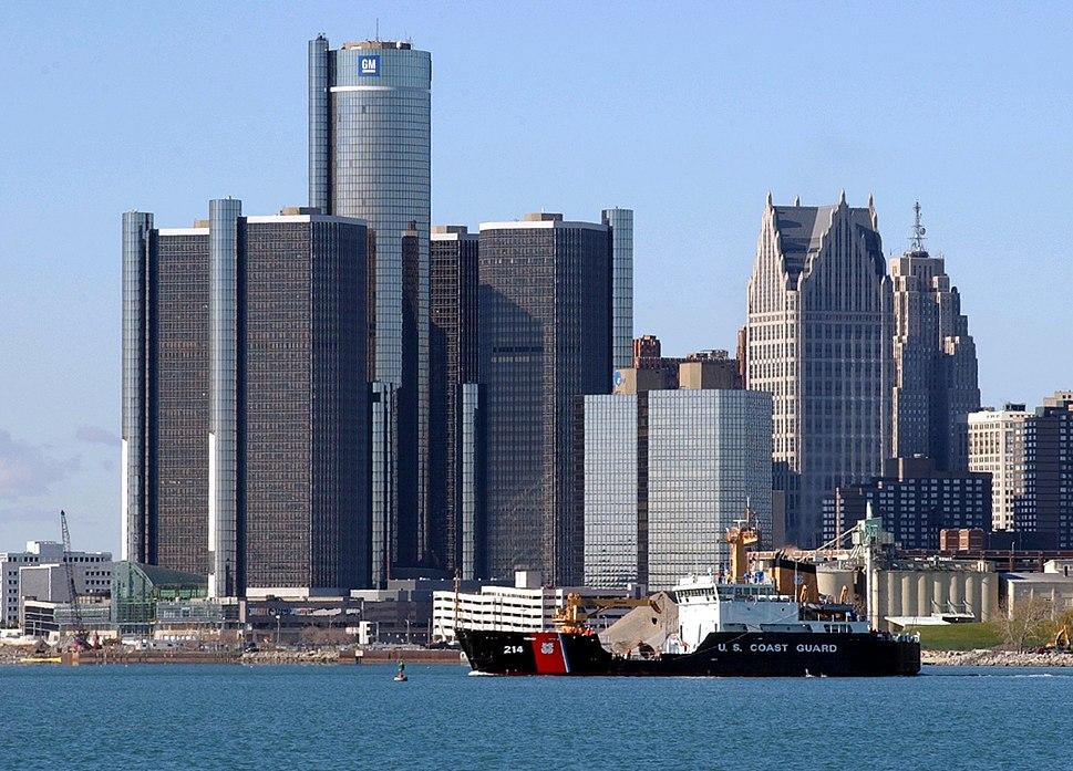 Detroit GM headquarters
