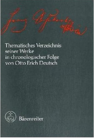 Schubert Thematic Catalogue - Deutsch-Verzeichnis 1978