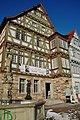 Deutsches Fleischermuseum in Böblingen, Ehem. Vogtshaus der Vögte Hans Keppler (1454-75) und Erhard Jäger (1495), um 1570 von Vogt Wernher Ströling neu errichtet. Von 1866-1967 Wohn- und Kaufhaus, Zierfachwerk und r - panoramio.jpg