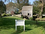 Dexter's Grist Mill in Sandwich, Massachusetts