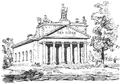 Dianenbau bei Bietigheim, Skizze von General Eduard von Kallee, 1837.png