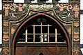 Die Altstadt Goslar. Schnitzarbeiten an der Tür zur Stadtbibliothek.jpg