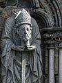 Die Statuen in der Westfassade der Nidaros Kathedrale (untere Reihe). 15.jpg