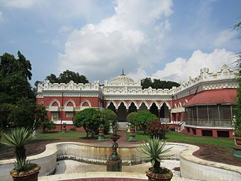 Dighapatia Rajbari Main Palace Compound 2.jpg