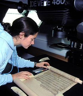 Dunhuang manuscripts a collection of medieval manuscripts found in the caves at Dunhuang