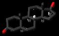 Dihydrotestosterone molecule skeletal.png