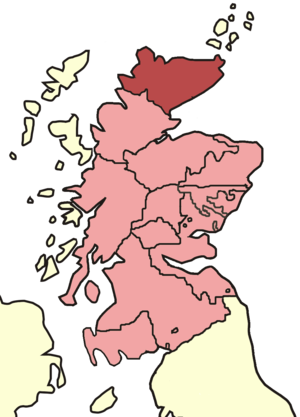 Bishop of Caithness - Skene's map of Scottish bishoprics in the reign of David I (reigned 1124–1153).