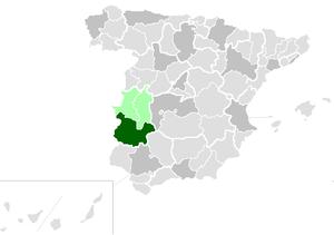 Roman Catholic Archdiocese of Mérida-Badajoz - Image: Diocesisdemeridabada joz
