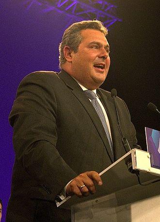 Panos Kammenos - Panos Kammemos in 2013