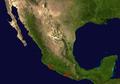 Distribution.Brachypelma.smithi.Mexico.png